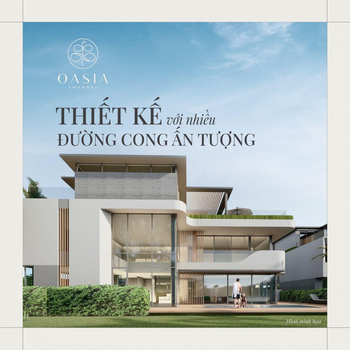 dự án swan bay oasia