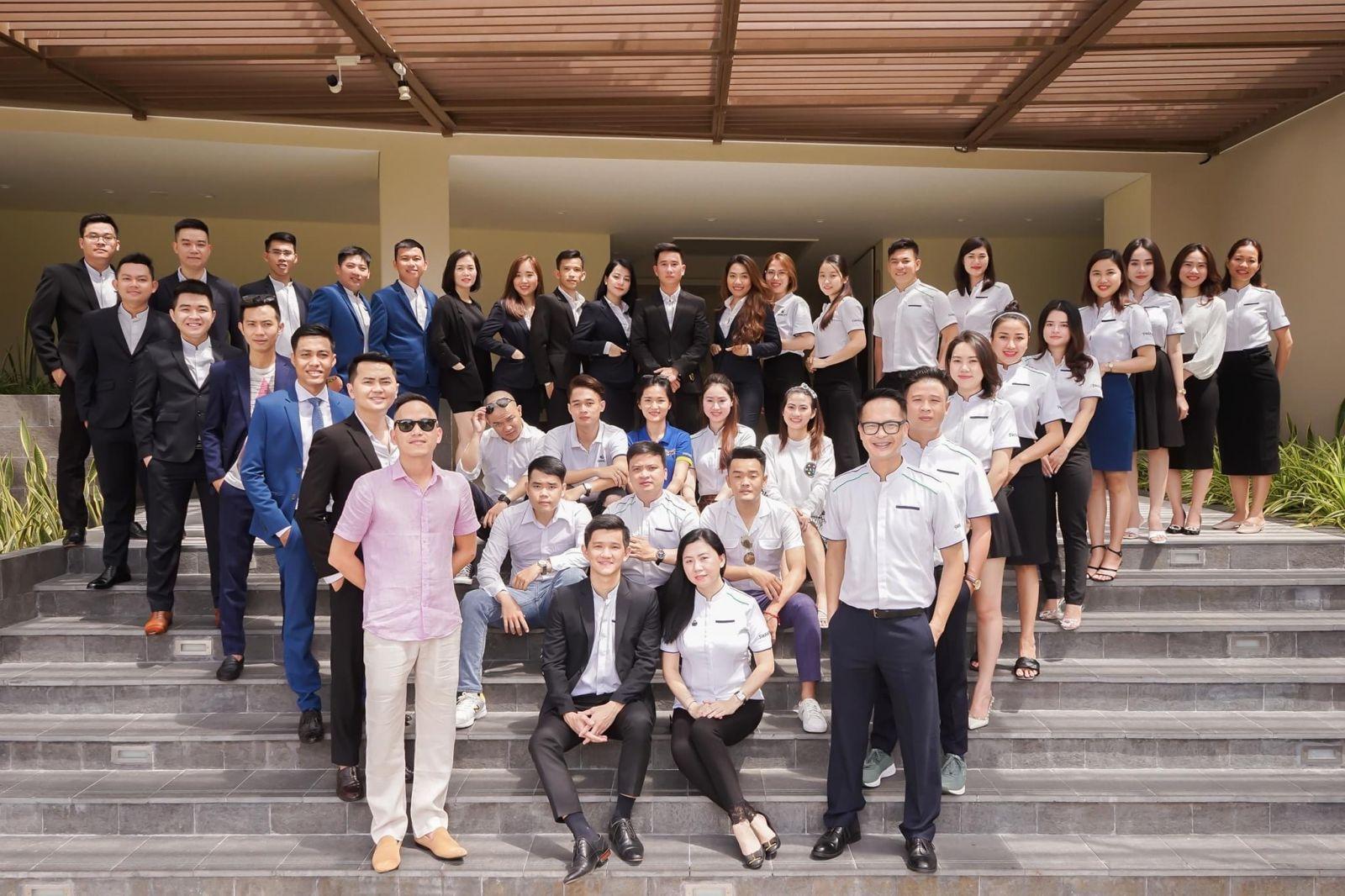 Team sales and marketing chủ đầu tư swan city