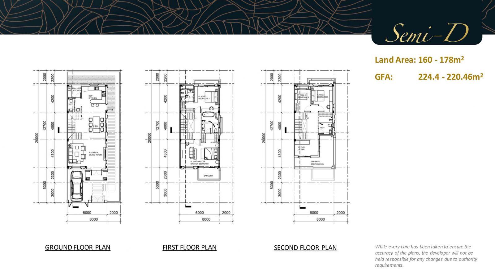 Thiết kế biệt thự song lập swanbay la maison