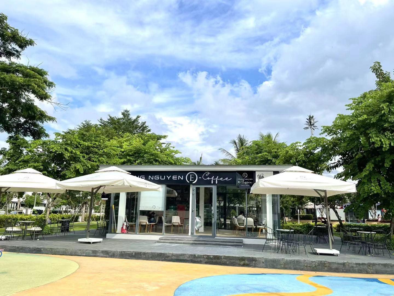 cafe trung nguyên tại dự án swan bay đại phước