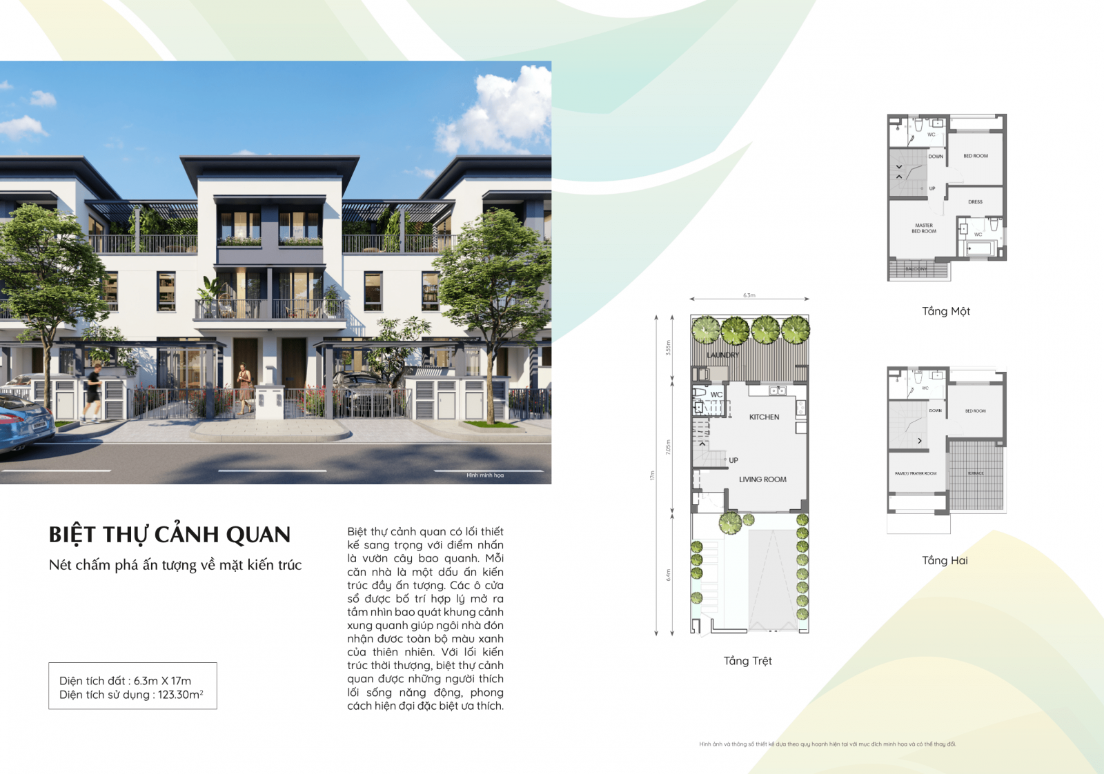 Nhà phố Small dự án Swan Park