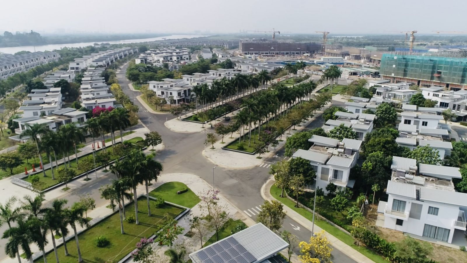 phân khu zone 5 swan bay garden villa