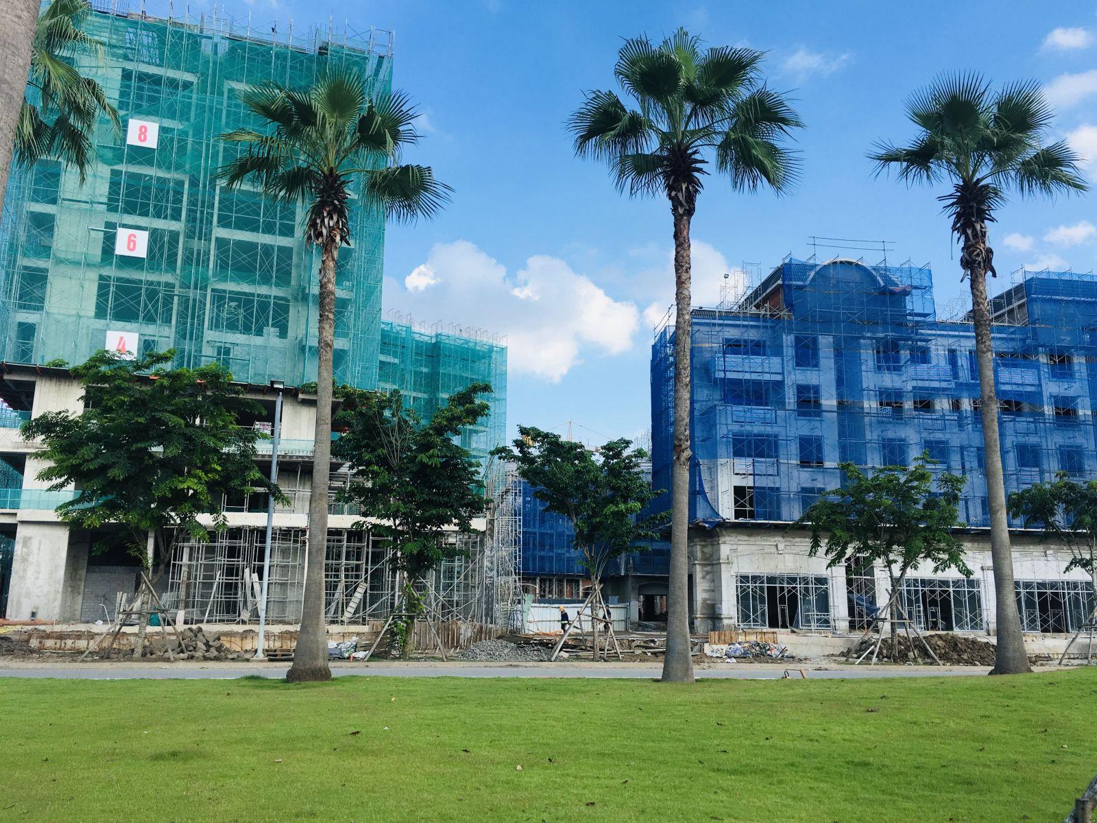căn hộ dự án swan bay zone 6 đang xây dựng